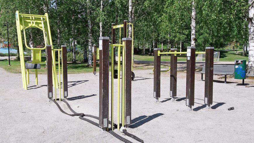 Gym en plein air
