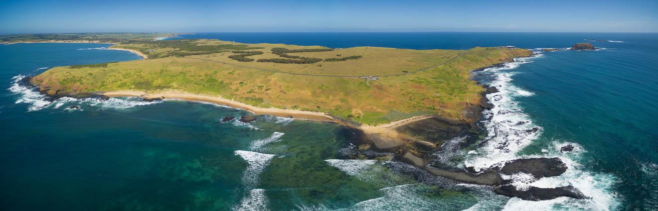 phillip island penguin parade - vue panoramique Que faire à Phillip Island?