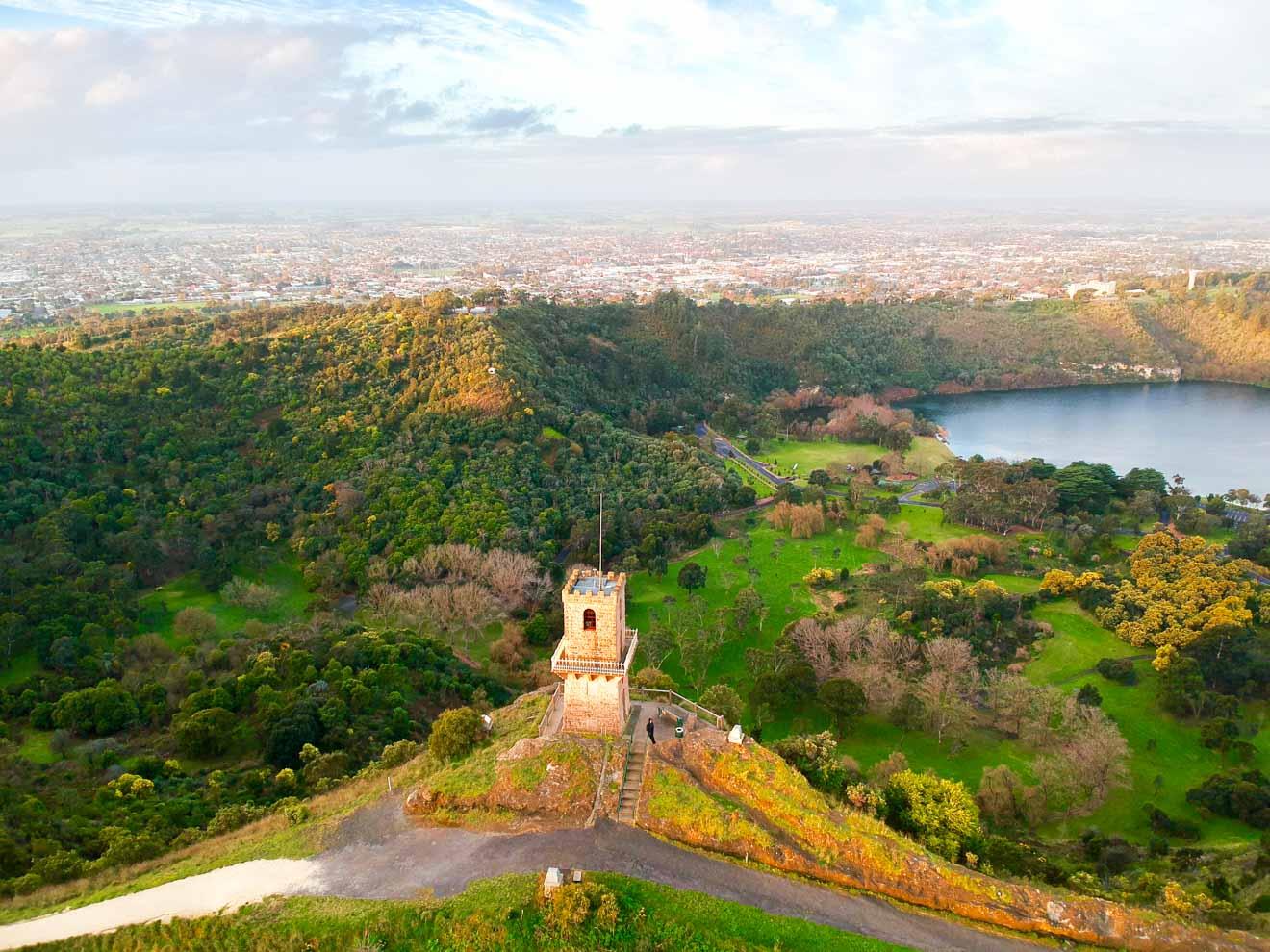 Que voir à Mount Gambier - Centenary Tower Que faire à Mount Gambier