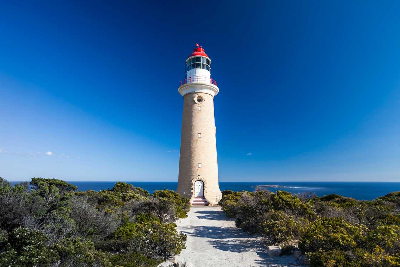 Activités touristiques les mieux notées sur Kangaroo Island- Lighthouse Que faire à Kangaroo Island