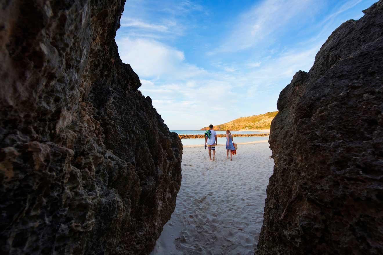 quoi faire à l'île kangourou - Stokes Bay Que faire à Kangaroo Island