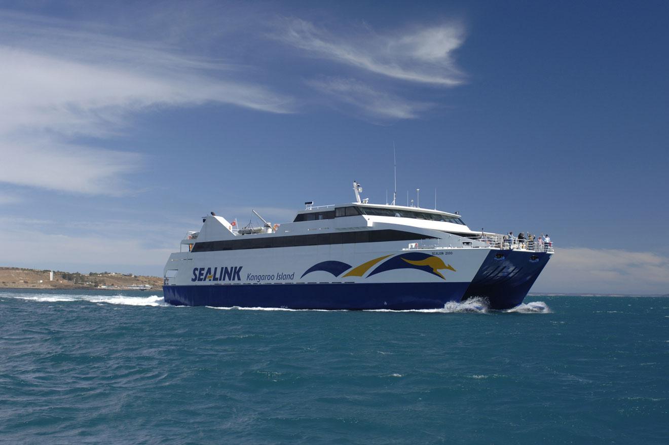 ferry de l'île Kangourou - SeaLink Que faire à Île Kangourou