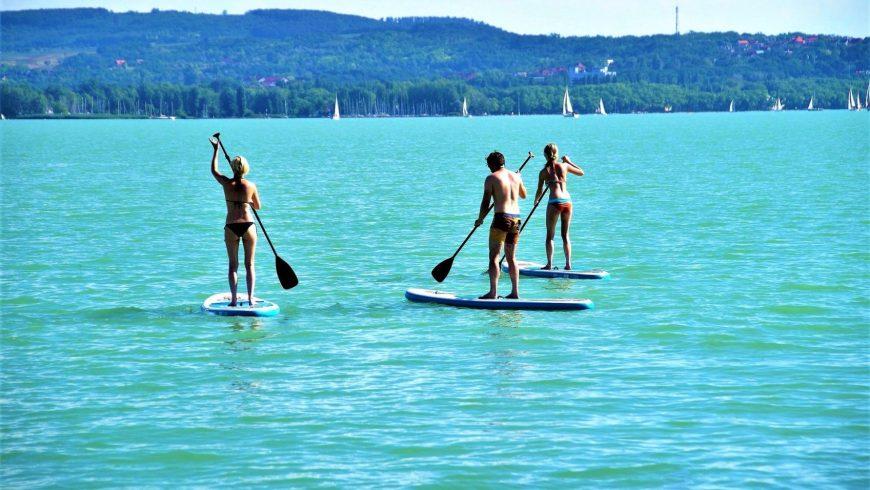 expériences écologiques en Istrie: Stand up paddle Lim Fjord