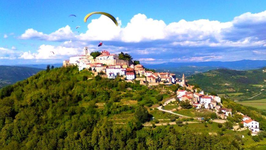 expériences écologiques en Istrie: parapente