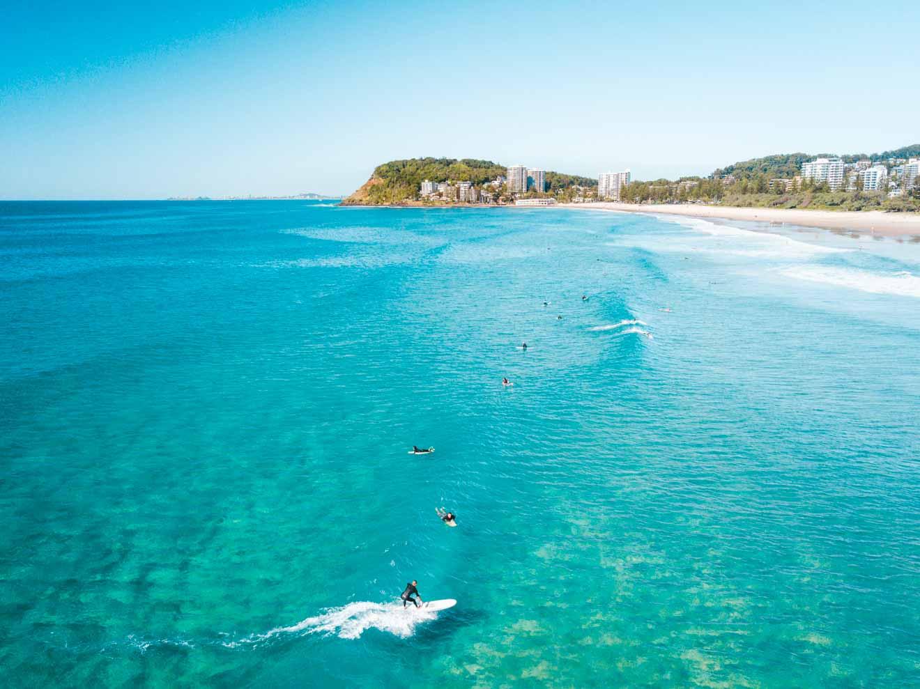 North Burleigh Choses à faire au paradis des surfeurs de la Gold Coast