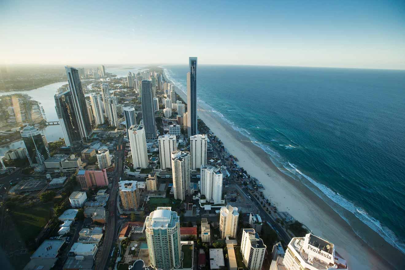 Gratte-ciel Choses à faire sur la Gold Coast, Brisbane, Australie