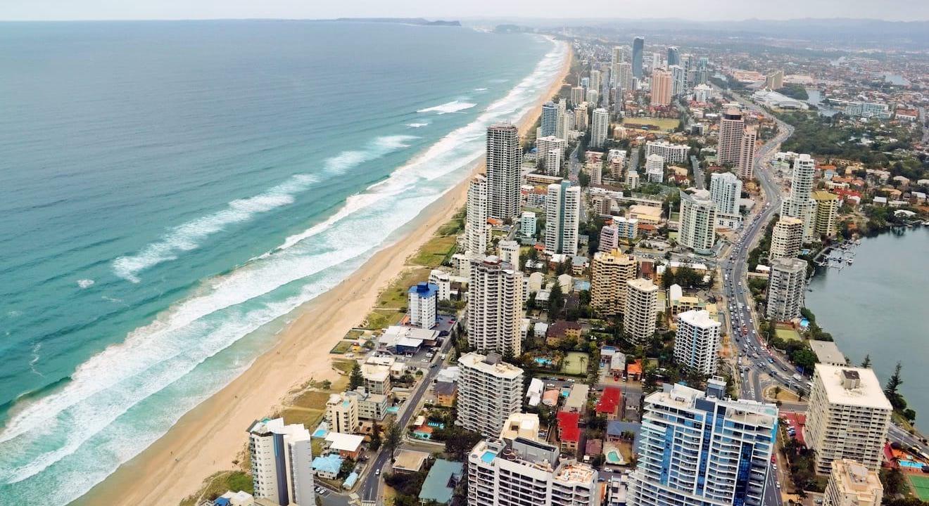 choses à faire à Gold Coast Australie attractions vue 2