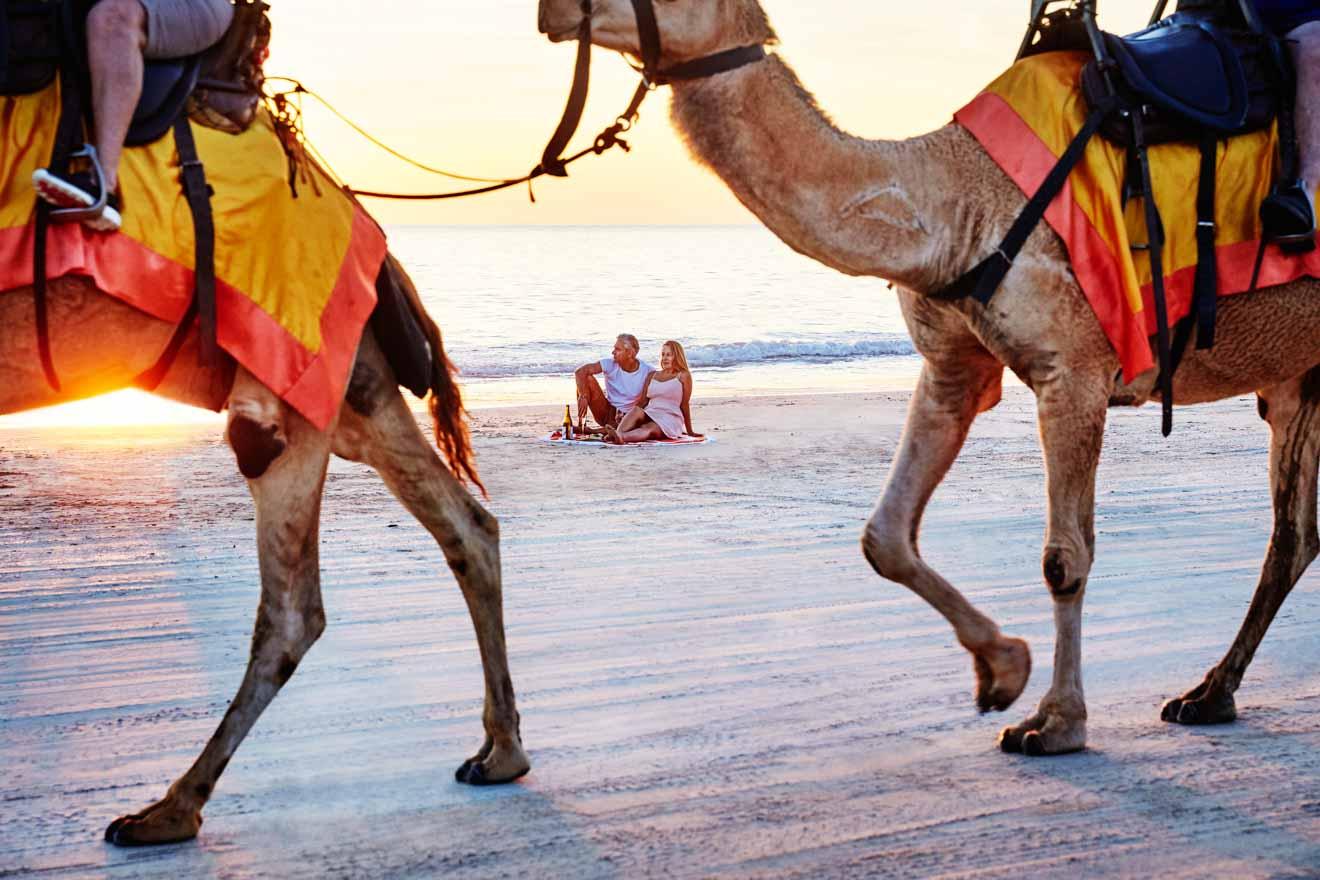 Broel Cable Beach Activités romantiques à Broome