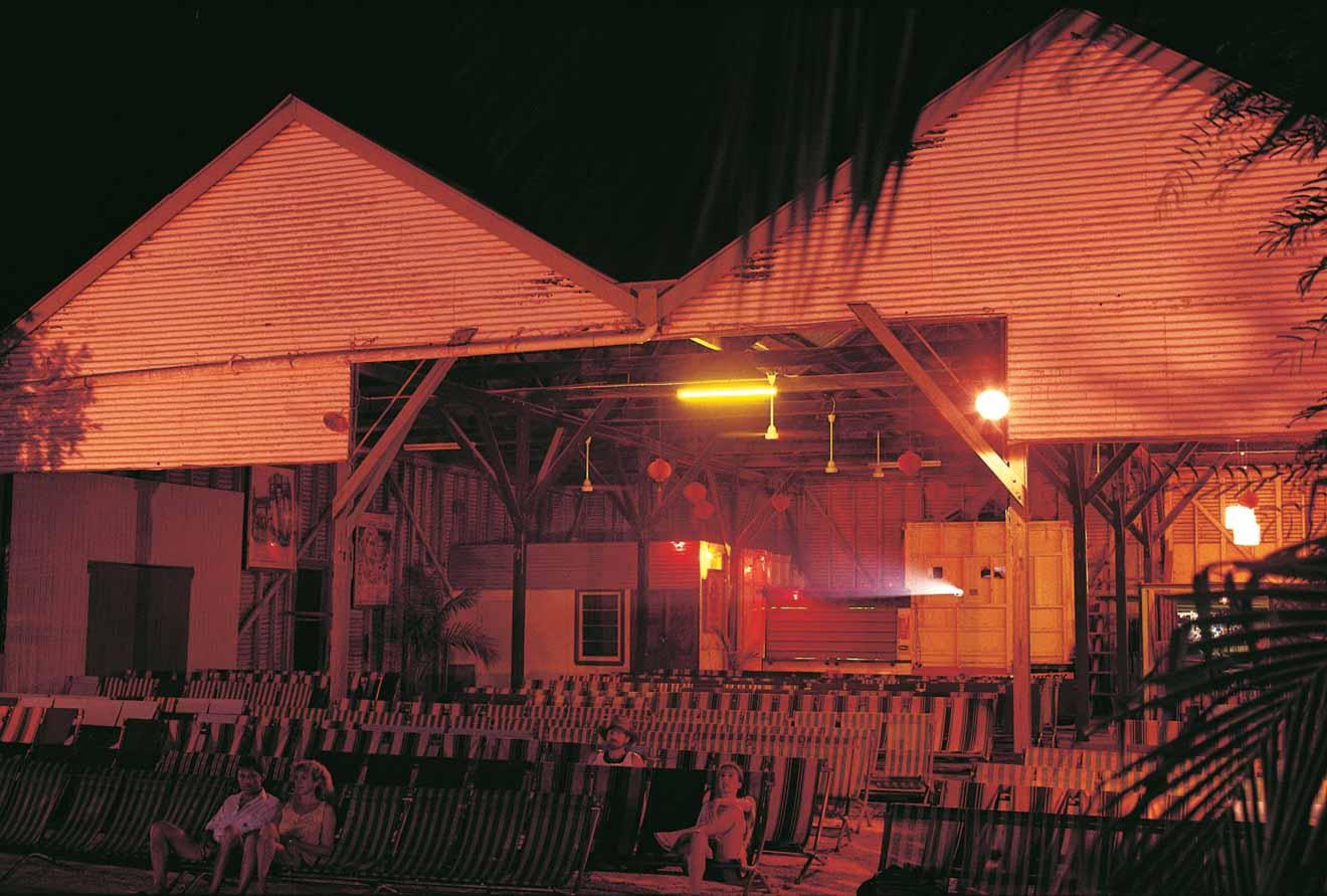 Photos de soleil dans le quartier chinois Que faire à Broome?