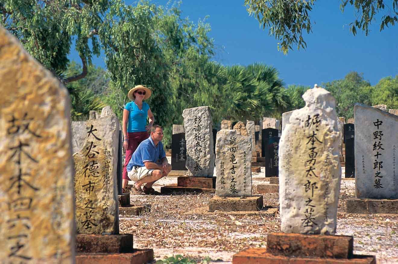 meilleurs sites touristiques - Les activités du cimetière japonais à Broome