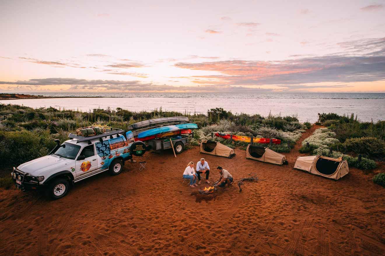 National Park camping Choses à faire à Shark Bay, Australie occidentale