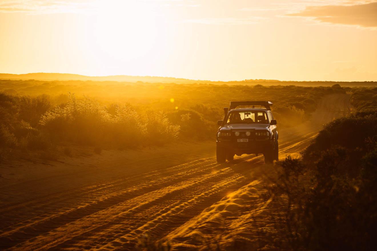 Lever du soleil gratuit Que faire à Shark Bay lors d'un tour de route
