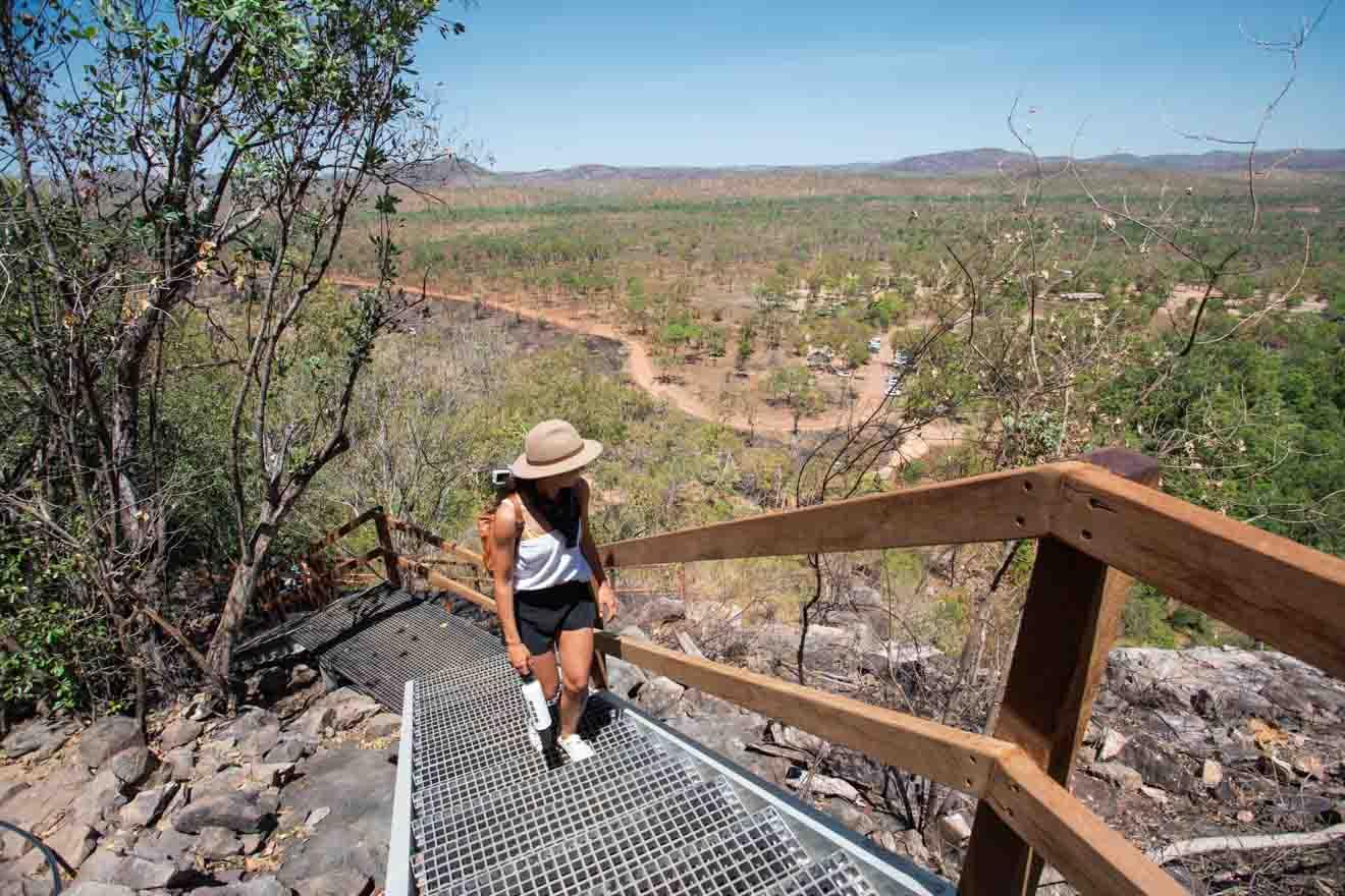 haut de Gunlom Choses à faire dans le parc national de Kakadu tourisme