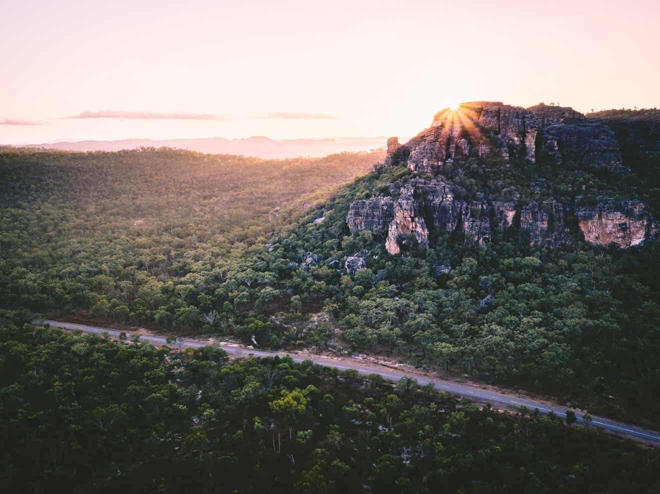 belle vue choses à faire à Kakadu road tour itinéraire
