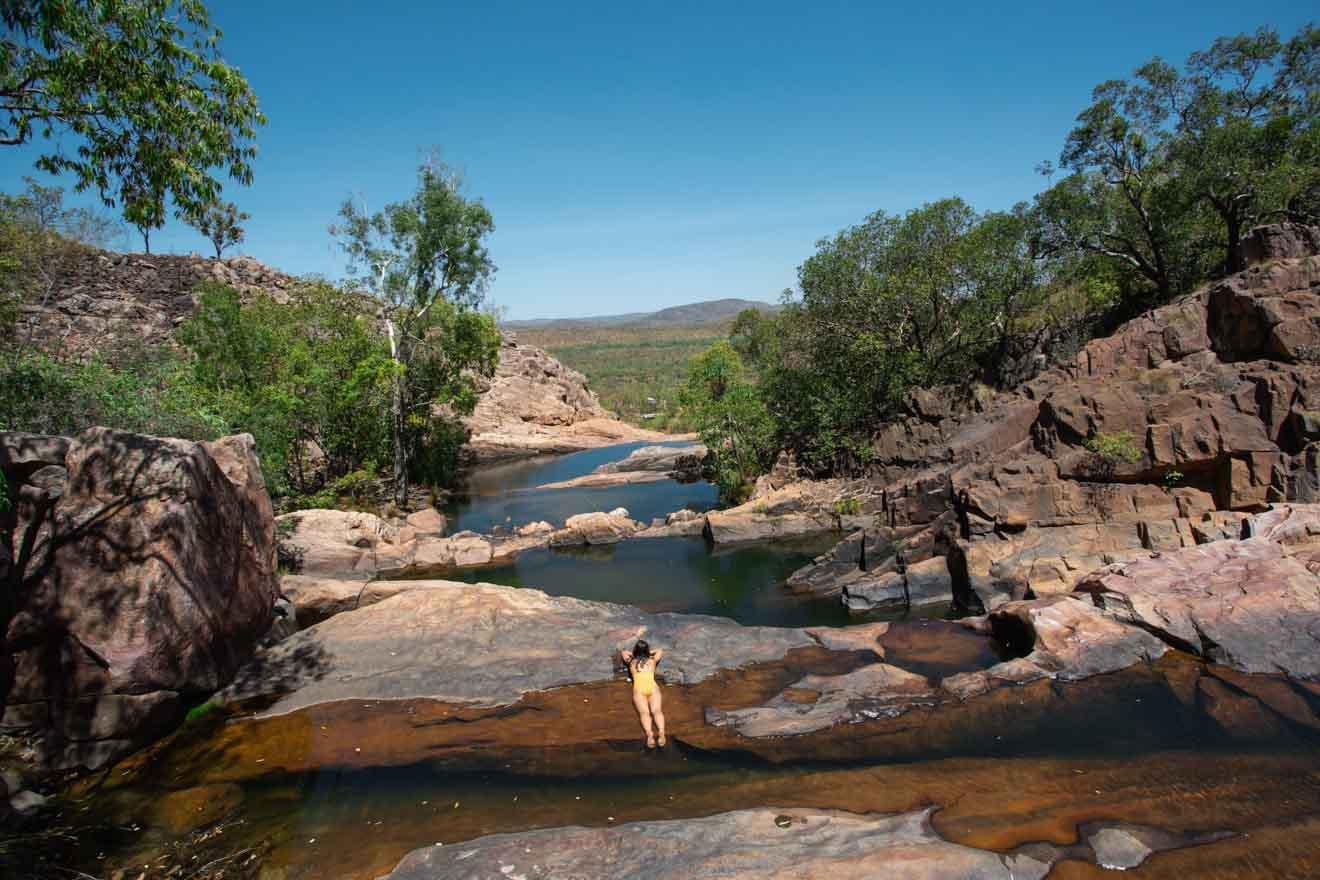 Gunlom Falls Que faire à Kakadu, dans le Territoire du Nord de l'Australie