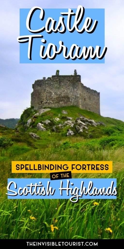 Castle Tioram: forteresse envoûtante des Highlands écossais | Le touriste invisible