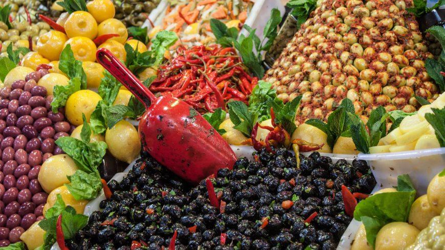 marché local au Maroc