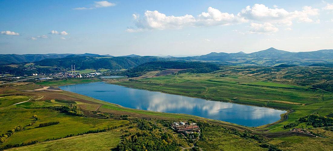 Lac Milada, piscines naturelles