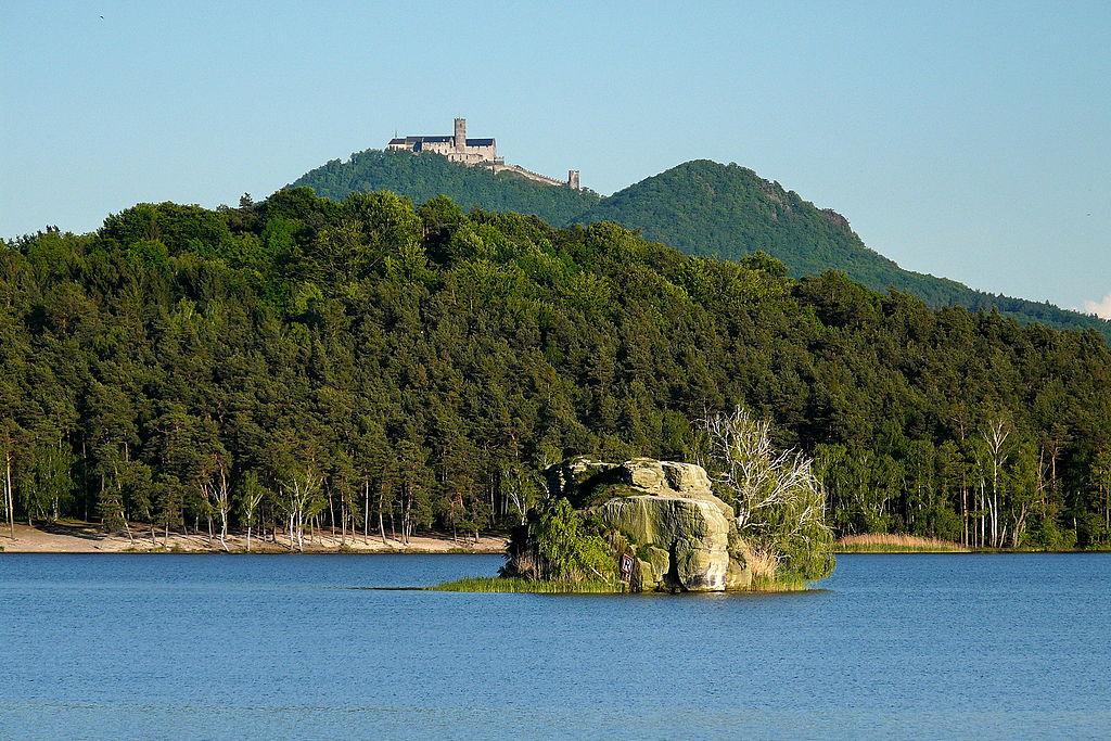 Machovo jazero, piscines naturelles