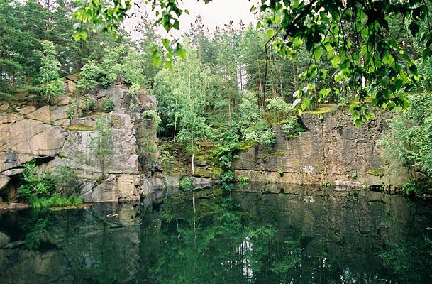 Necin, piscines naturelles