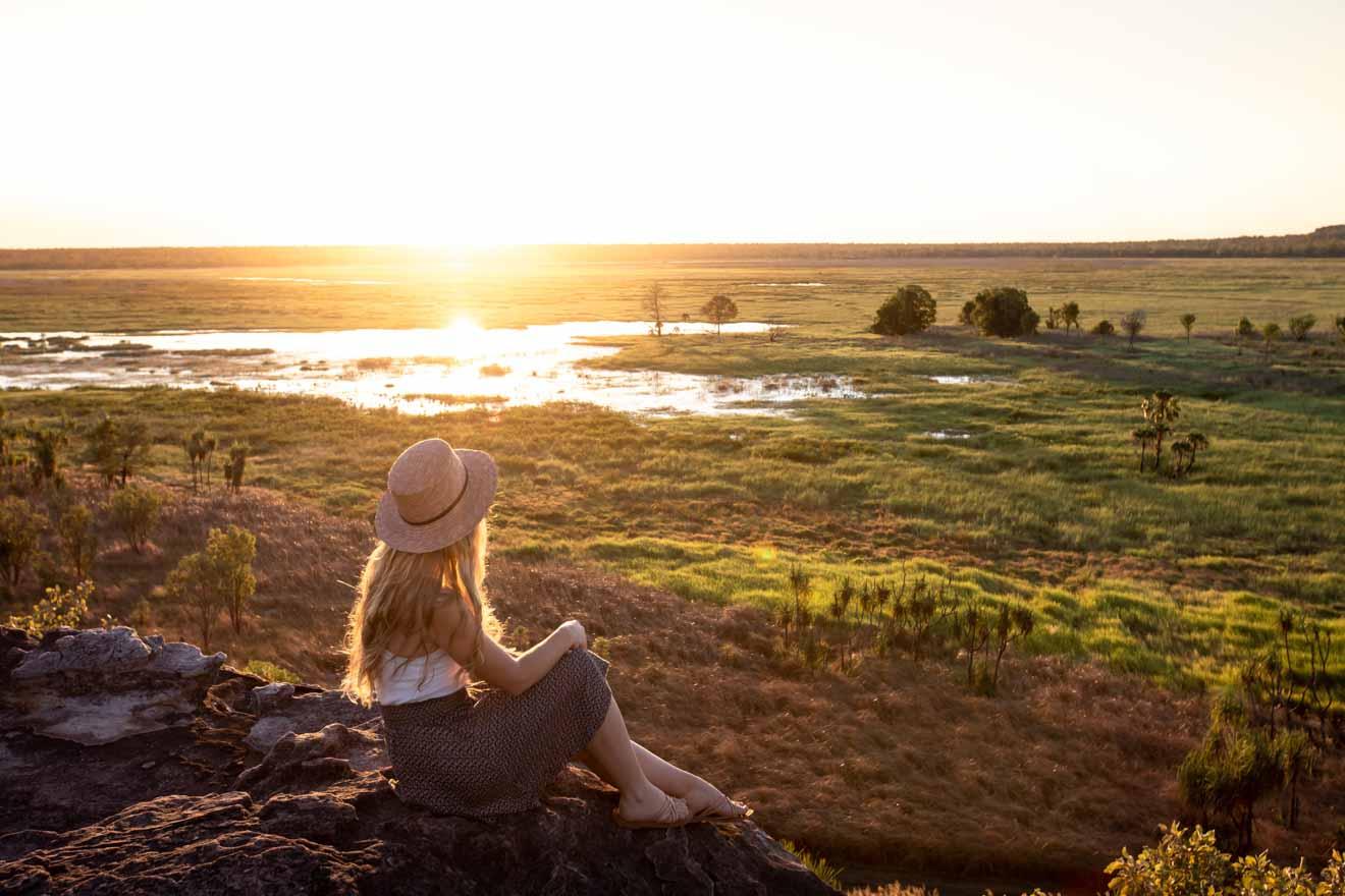Sunset at Ubirr Choses à faire dans le parc national de Kakadu