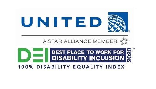 United Airlines nommée meilleure entreprise pour l'inclusion des personnes handicapées