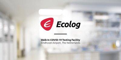 Ecolog annonce une installation d'essai COVID-19 sans rendez-vous à l'aéroport d'Eindhoven