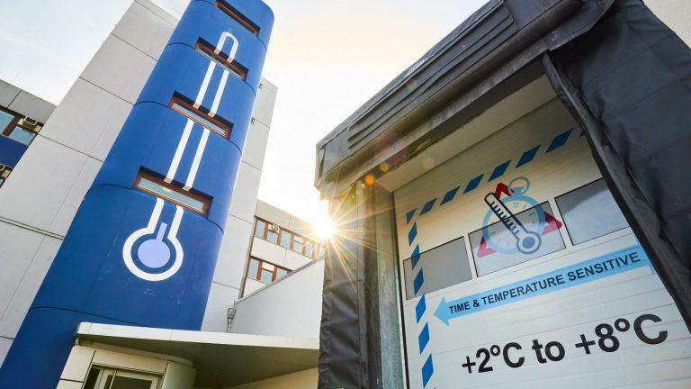 Pharma-Hub L'aéroport de Francfort est le premier hub européen pour la manutention de marchandises sensibles à la température