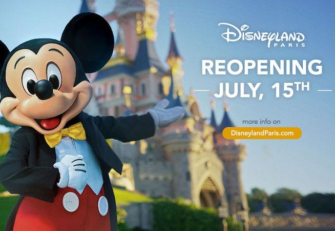 Bonne nouvelle – Disneyland Paris a de nouveau ouvert ses portes!
