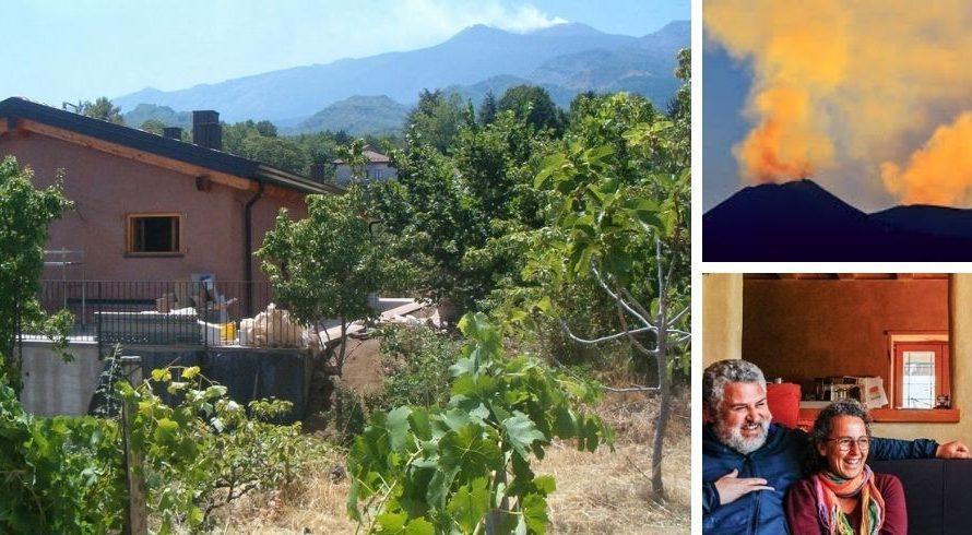 Permaculture à la maison de balles de paille Felcerossa: Interview
