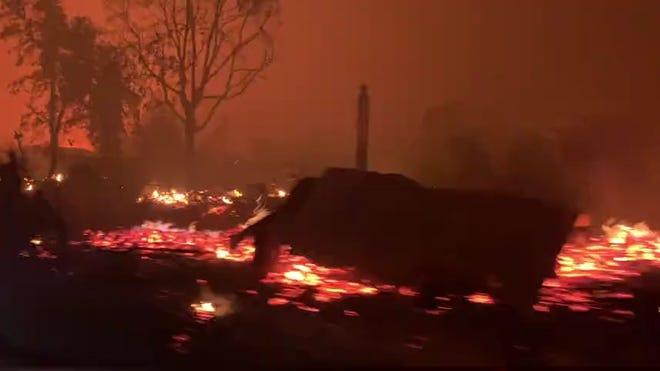 Plus d'un demi-million de personnes évacuées en raison des incendies de forêt dans l'Oregon