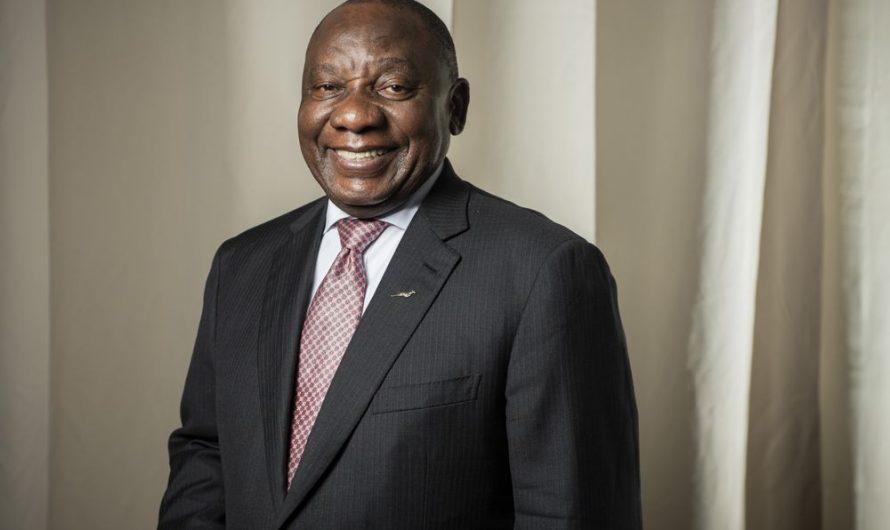 Mise à jour du président sud-africain Ramaphosa sur COVID0-19