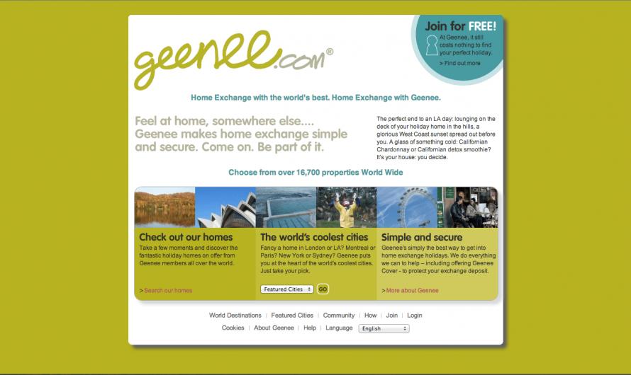 Examen du réseau d'échange à domicile Geenee