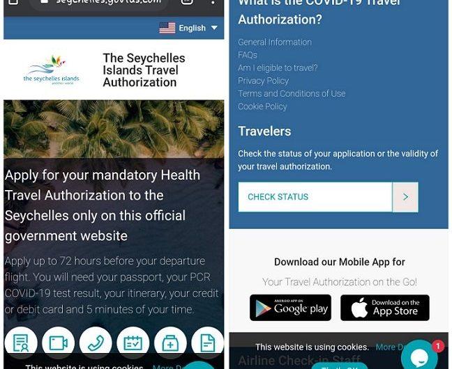 Les Seychelles dévoilent une nouvelle technologie d'autorisation de voyage