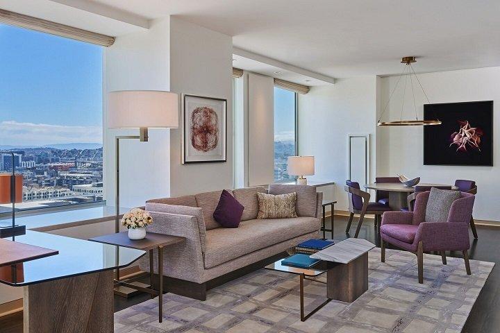 Le St. Regis San Francisco nommé hôtel cinq étoiles dans le guide de voyage Forbes 2021 Star Awards
