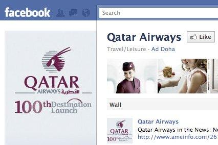 Qatar Airways devient la compagnie aérienne la plus suivie sur Facebook