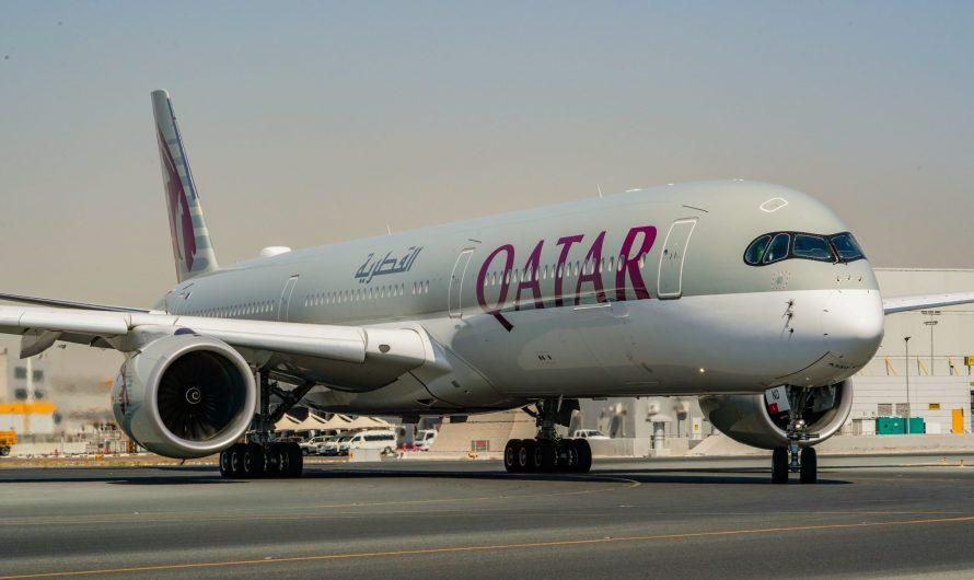 Qatar Airways reçoit trois nouveaux avions Airbus A350-1000