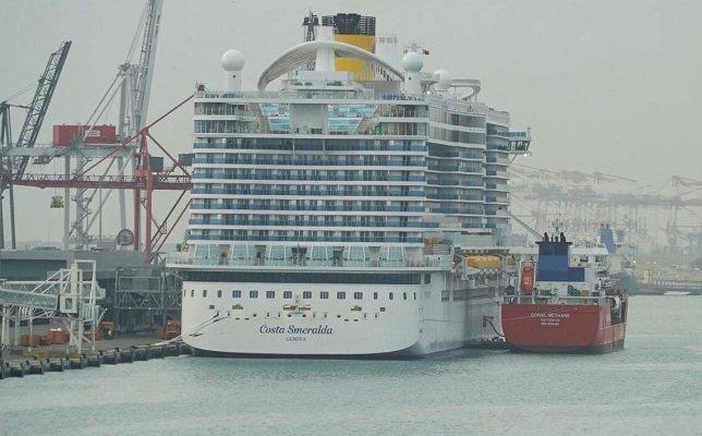 Costa Cruises termine la première opération de soutage de navires de croisière GNL en Italie