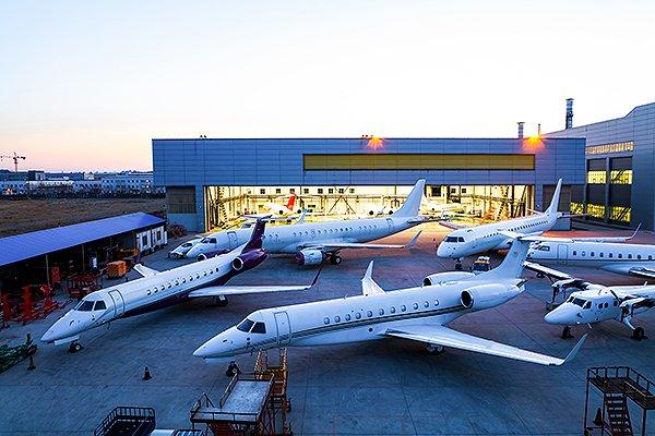 ExecuJet Haite termine la plus grande inspection d'avions d'affaires en Chine
