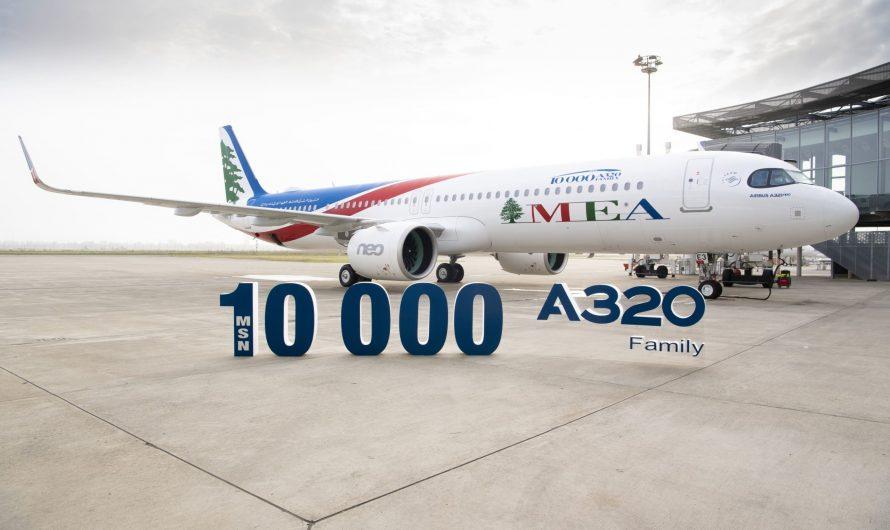 Airbus livre un troisième A321neo à Middle East Airlines