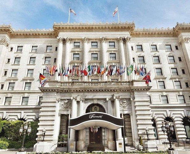 L'hôtel Fairmont: Nob Hill Grande Dame