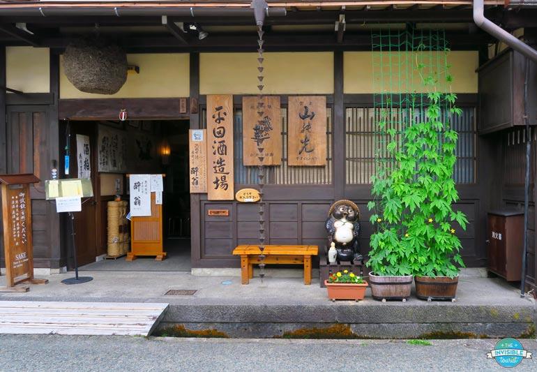 Tanuki à Takayama