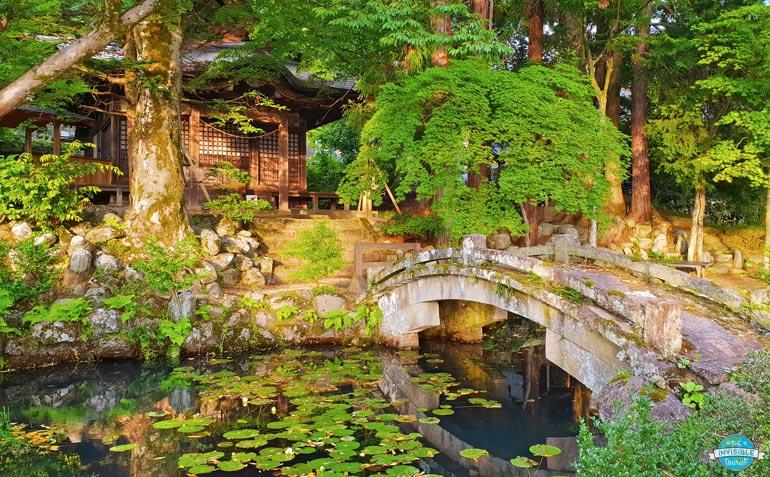 Ajoutez le parcours de marche Higashiyama à votre itinéraire Takayama