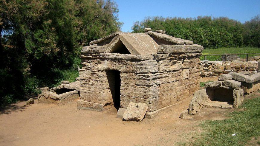 Parc archéologique de Baratti et Populonia, Côte étrusque