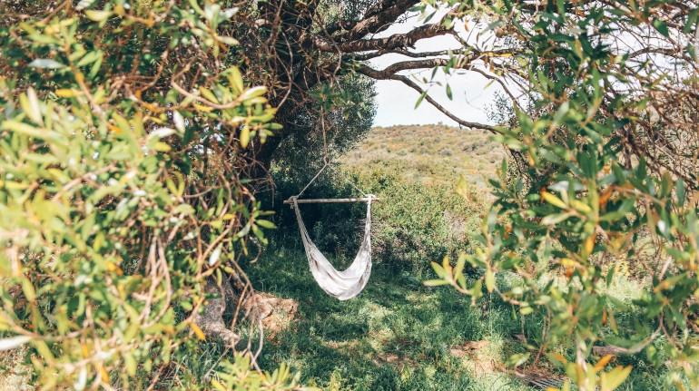 Espace détente à l'Essenza Sardegna ecobnb
