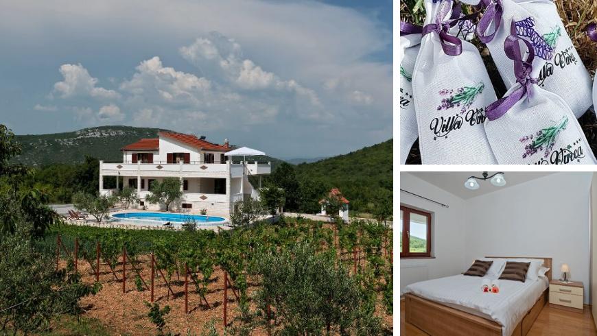 Villa Vinea, l'une des meilleures retraites rurales de Croatie