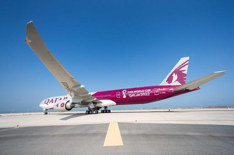 Qatar Airways dévoile son premier avion sur mesure pour la Coupe du Monde de la FIFA, Qatar 2022