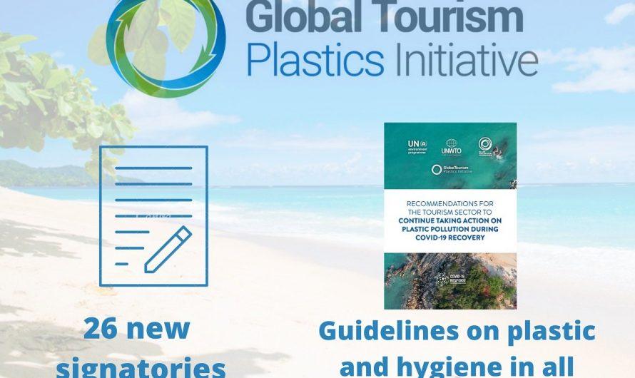 L'Initiative mondiale sur les plastiques touristiques de l'OMT accueille 26 nouveaux signataires
