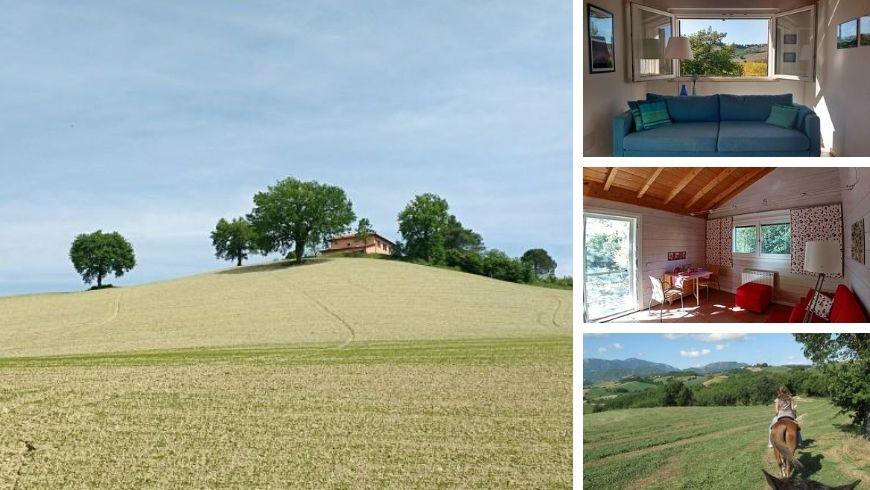 Ferme écologique avec vue sur Urbino