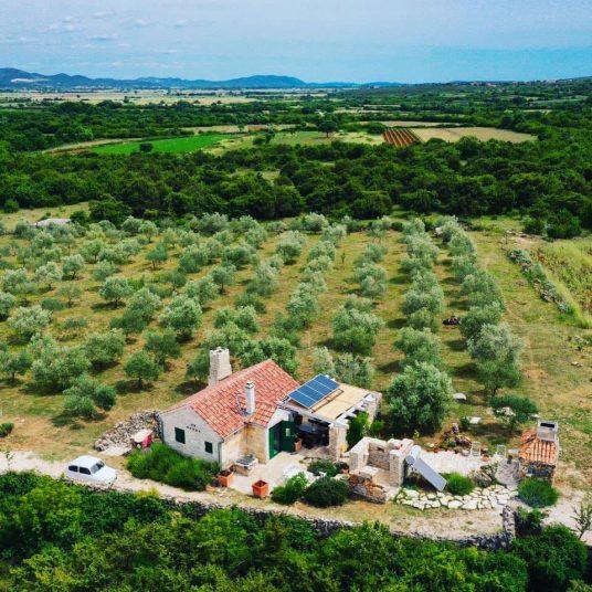 Vacances de désintoxication numérique en Croatie-Stone House